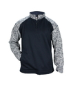 Badger Sport 1487 Adult Blend Sport Fleece 1/4 Zip