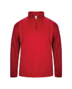 Badger Sport 1488 Adult Sport Tonal Blend 1/4 Zip Fleece