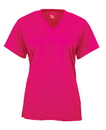 Badger Sport 2162 Girls' B-Core V-Neck Tee