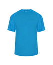 Badger Sport 2178 Youth Tonal Blend Panel Tee