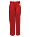 Badger Sport 2478 Youth Poly Open Bottom Sweatpant