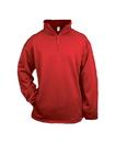 Badger Sport 2480 Youth Poly Fleece 1/4 Zip