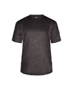 Badger Sport 4131 Adult Line Embossed Tee
