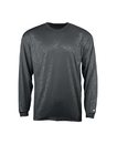 Badger Sport 4145 Adult Line Embossed Long Sleeve Tee