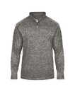 Badger Sport 4172 Adult Tonal Blend 1/4 Zip