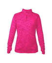 Badger Sport 4173 Ladies' Tonal Blend 1/4 Zip