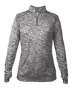 Badger Sport 4193 Ladies' Blend 1/4 Zip