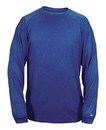 Badger Sport 4304 Adult Pro Heather Long Sleeve Tee