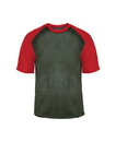 Badger Sport 4341 Adult Heather Sport Tee