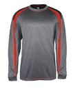 Badger Sport BG4350 Adult Fusion Long Sleeve Tee