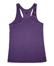 Badger Sport 4366 Ladies' Pro Heather Racerback Tank