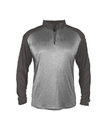 Badger Sport 4394 Adult Sport Heather Tonal 1/4 Zip