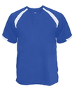 Badger Sport 7932 Adult Competitor Placket