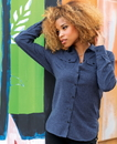 Burnside 5200 Ladies' Flannel Shirt