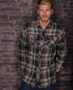 Burnside 8210 Woven Plaid Flannel
