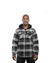 Burnside 8620 Adult Hooded Flannel Jacket