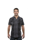 Burnside 9206 Adult Short Sleeve Western Plaid Shirt