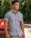 Burnside 9247 Adult Texture Woven Shirt