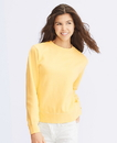 Comfort Colors CC1596 Ladies' Crewneck Fleece