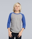Gildan 5700B Heavy Cotton Youth 3/4 Raglan Tee