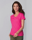 Gildan 5V00L Heavy Cotton Ladies' V-Neck Tee