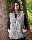 J.America 8456 Ladies' Epic Sherpa Vest