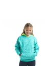 J.America 8610 Youth Cosmic Contrast Pullover Hood