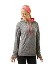 J.America 8616 Ladies' Cosmic Contrast Pullover Hooded Fleece