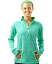 J.America 8617 Ladies' Cosmic 1/4 Zip Fleece