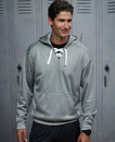 J.America 8833 Adult Sport Lace Poly Fleece Hood