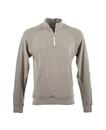 J.America 8869 Adult Triblend 1/4 Zip Fleece