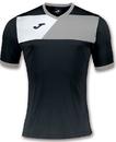 Joma Sport 100611 Adult Crew II Short Sleeve Color Block Perfomance Tee