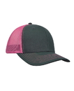 KC Caps KC8400 Adult Pro Style Trucker Cap with Neon Mesh
