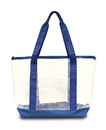 Liberty Bags LB7009 Clear Boat Tote