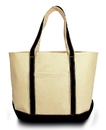 Liberty Bags LB8871 Windward Large Cotton Canvas Classic Boat Tote