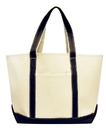 Liberty Bags LB8872 Carmel Classic XL Cotton Canvas Boat Tote