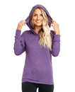 Next Level 6021 Unisex Tri-Blend Long Sleeve Hooded Tee