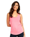 Next Level 6338 Women's Gathered Racerback Tank