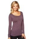 Next Level NL6731 Women's Tri-Blend Long Sleeve Scoop Tee