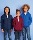 Next Level 9103 Youth Fleece Full Zip Hood