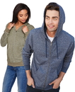 Next Level 9600 Unisex Denim Fleece Zip Hoody