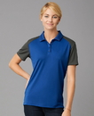 Prim + Preux PP2039L Women's Energy Color Block Polo