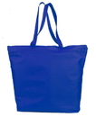 Q-Tees Q91221 Deluxe Zipper Tote Bag
