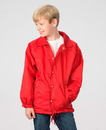 Q-Tees QP201B Youth Lined Coaches Jacket