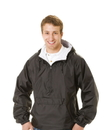 Q-Tees QP401 Hooded Pullover Jacket