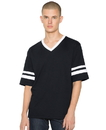 American Apparel RSABB4481W Adult V-Neck Football Tee