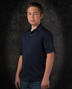 Featherlite SP4469 Youth Moisture Free Solid Sport Shirt