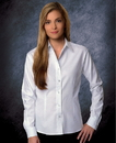Featherlite SP5233 Ladies' Performance Teflon Long Sleeve Oxford