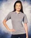 Featherlite SP5330 Ladies' Platinum Pique Sport Shirt
