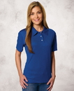 Featherlite SP5469 Ladies' Moisture Free Solid Sport Shirt
